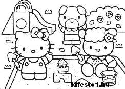 Hello Kitty 42 kifestok